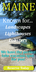 Maine Lake House Vacation Rental