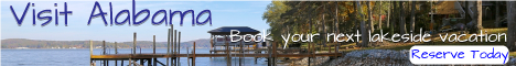 Visit Alabama lakefront vacation rentals