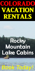 Colorado lake vacation rental cabins