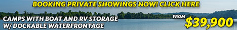Kentucky Lake, TN Dockable Lakefront RV Sites