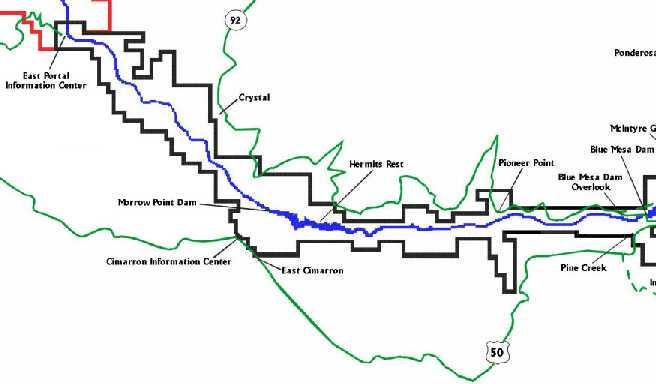 Colorado lakes crystal lake for Colorado fly fishing map