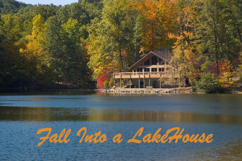 Fall Into a Lake House!